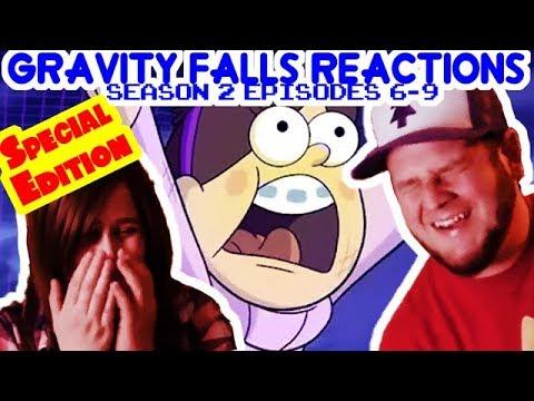 Gravity Falls Season 2 Episodes 6-9  reaction (Special edition edit)
