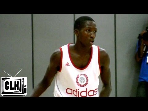Sidy Ndir 6'3 point guard from Senegal – 2012 Adidas Nations highlights – Team Africa