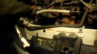 replacing alternator 2002 ford focus