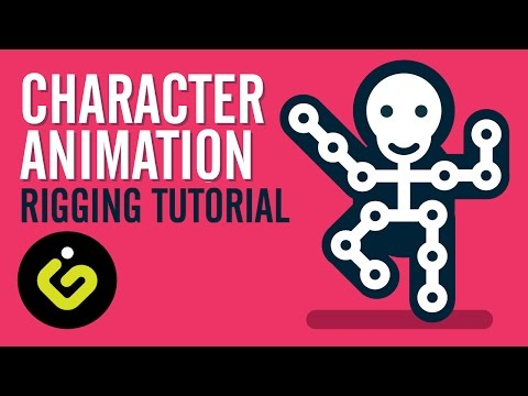 Character Rigging, EASY Character Animation Tutorial In After Effects, Illustrator And Duik Plugin