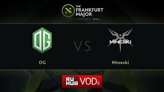 Mineski vs OG, game 1