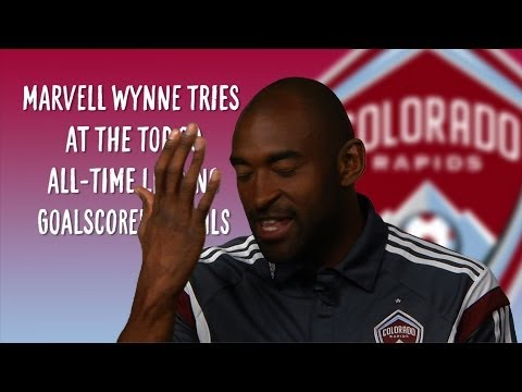Video: Marvell Wynne takes the MLS leading goalscorer quiz | MLS Trivia
