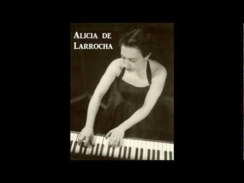 Alicia de Larrocha plays Rodrigo - A l' ombre de Torre Bermeja