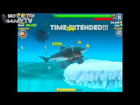 Hungry Shark Evo – Best Android & iOS Games TV