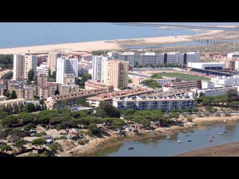 Isla Cristina desde el aire