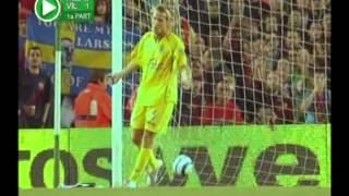 Diego Forlans Hattrick gegen den FC Barcelona