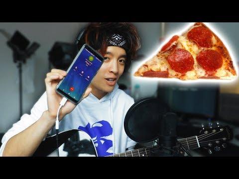 Pizza bestellen mit nem SONG   Gong Bao