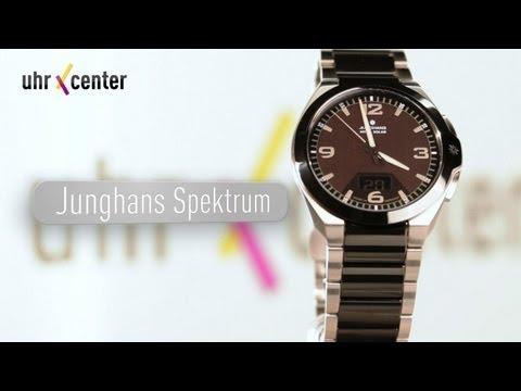 Junghans 018/1120.44 Spektrum Mega Solar Funkuhr