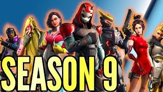 FORTNITE SEASON 9  Battle Pass, Neue Karte & Skins FORTNITE BATTLE ROYALE DEUTSCH