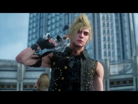 Final Fantasy 15/Final Fantasy XV – Gameplay Demo (PS4) (TGS 2014)