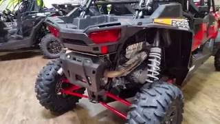 9. 2017 POLARIS RZR XP 4 TURBO EPS