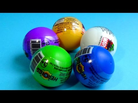 Hulk - MARVEL Heroics surprise eggs! Unboxing 5 MARVEL eggs HULK SpiderMan THOR Wolverine! Unboxing 5 marvel eggs surprise: Marvel Hulk egg, Marvel Spider-Man egg, Marvel Thor egg, Marvel Wolverine...
