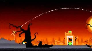 Angry Birds Seasons Walkthrough Trick or Treat 1-14