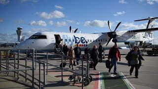 video: Flybe collapses as coronavirus hits aviation industry