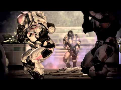 Mass Effect 3 Gameplay Trailer E3 - Fall of Earth Video