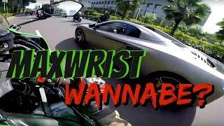 Video WHEELIE IN SUPERCAR!!  MaxWrist Wanna be!!! MP3, 3GP, MP4, WEBM, AVI, FLV Februari 2018