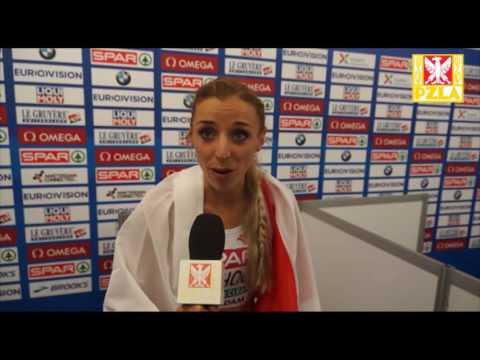 Angelika Cichocka - mistrzyni Europy z Mściszewic