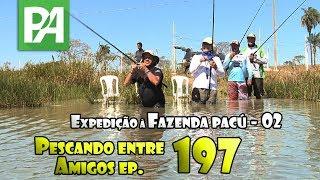 Entrando na água - Pescando Entre Amigos ep.196 (Expedição à Fazenda Pacu - 2)