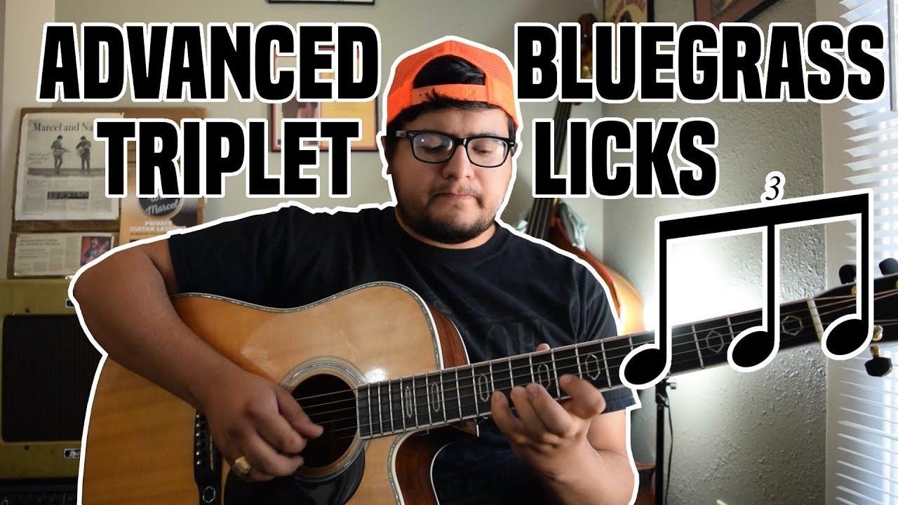 Bluegrass Triplet Licks – Advanced Bluegrass Guitar Lesson