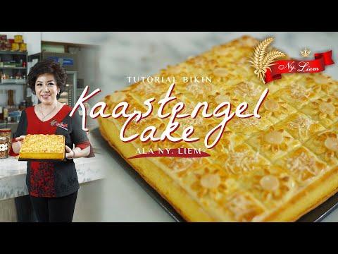 TUTORIAL KAASTENGEL CAKE! Andalan Ny. Liem, Perpaduan Bolu yang Lembut dan Kastengel Renyah!