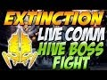 """Cod Ghosts - """"EXTINCTION HIVE BOSS FIGHT"""" Live Comm (Call of Duty Ghosts Extinction Mode)"""