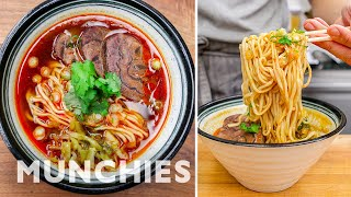 How To Make Taiwanese Beef Noodle Soup by Munchies