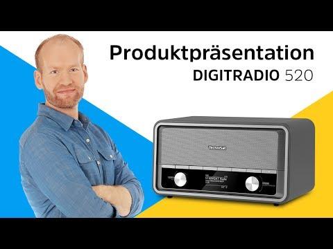 DIGITRADIO 520 | Digitalradio im Vintage-Look. | TechniSat