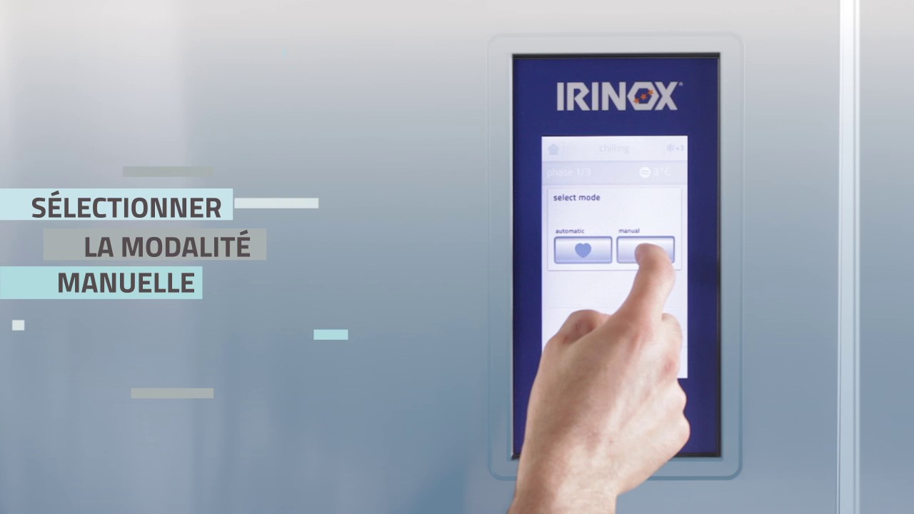 Irinox Multifresh MYA Tutorial - 02 Démarrage du cycle manuel
