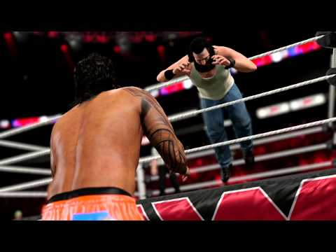 What - Maneuvers so real, you'll FEEL IT! And to feel the intensity of the WWE like never before, pre-order WWE 2K15 now at http://2kgam.es/1cRxDIp. So real, you'll feel it.