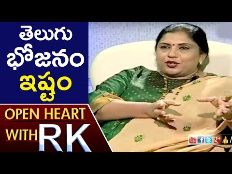 Actress And Director Sripriya Talks About Her Entry Into Film Industry | Open Heart With RK