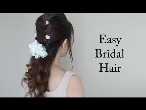 Easy Bridal / Prom Hair Tutorial