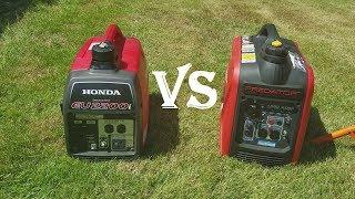 3. Honda eu2200i vs predator 2000 inverter generator