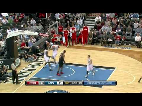Wesley Matthews to LaMarcus Aldridge's alley-oop dunk