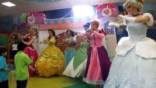 PrincesShow Show de Princesas en Monterrey : Cenicienta - Rapunzel - Mérida - Jazmín