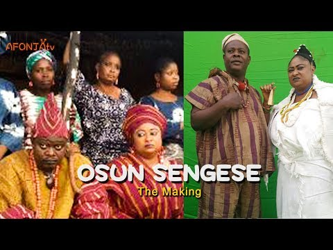 OSUN SENGESE - Latest Yoruba Movie By Corporate Pictures (The Making)