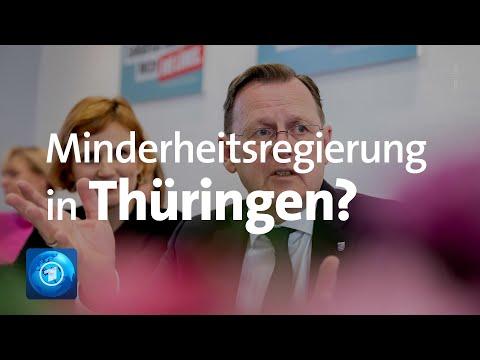 Thüringen: Minderheitsregierung Möglich?