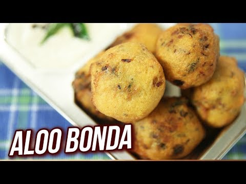 Aloo Bonda Recipe – How To Make Aloo Bonda At Home – Potato Snack Recipe – Ruchi