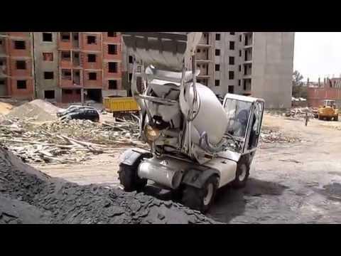 comment nettoyer betonniere