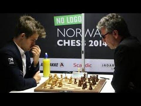 MAGNUS CARLSEN 2014 ALL MATCHES Carlsen,M Nakamura,Hi 2