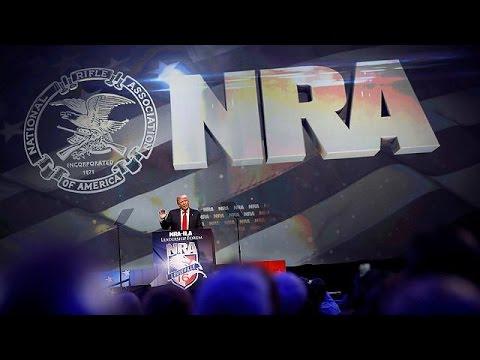 ΗΠΑ: Με τις «ευλογίες» της Εθνικής Ένωσης Οπλοκατοχής η υποψηφιότητα Ντόναλντ Τραμπ