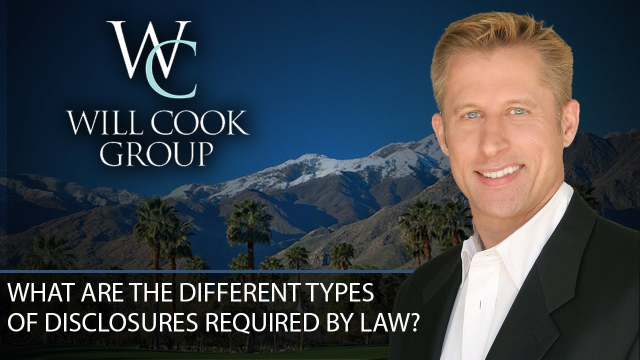 6 Types of Disclosures in California