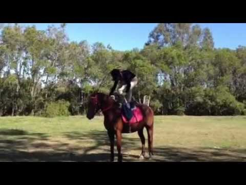 trick riding…. well sort of :3