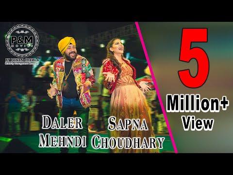 Video Daler Mehndi dancing with Sapna Choudhary on Teri Aakhya ka Yo Kajal   Never seen before download in MP3, 3GP, MP4, WEBM, AVI, FLV January 2017
