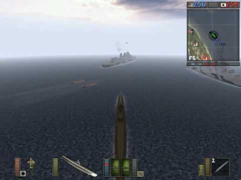 battlefield 1942 управление подводной лодкой
