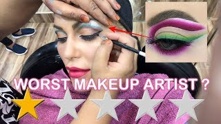 Video I WENT TO THE WORST REVIEWED MAKEUP ARTIST IN DUBAI MP3, 3GP, MP4, WEBM, AVI, FLV Agustus 2019