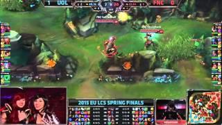 LCS EU Spring 2015 - Playoffs - Finale - UOL vs FNC