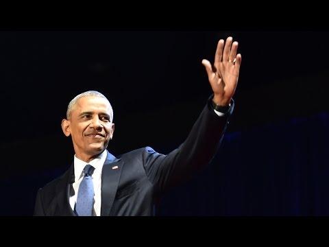Барак Обама выступил с прощальной речью (новости) - DomaVideo.Ru