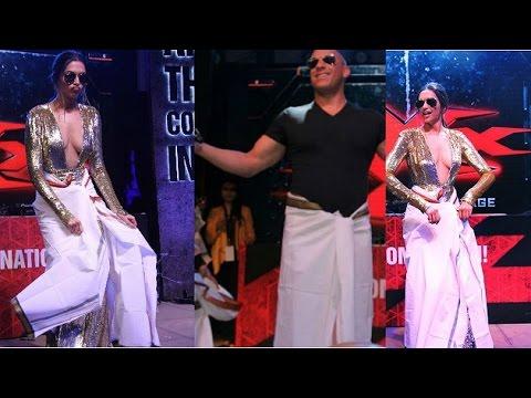 Video Deepika Padukone made Vin Diesel do 'Lungi Dance' download in MP3, 3GP, MP4, WEBM, AVI, FLV January 2017