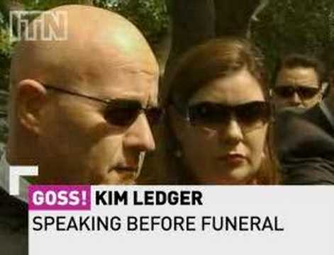 Heath Ledger Funeral Video