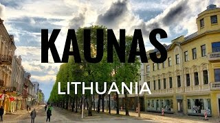 Kaunas Lithuania  City new picture : Kaunas, Lithuania. A look around and tour of the city.